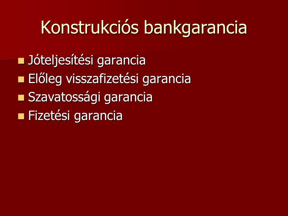 Konstrukciós bankgarancia
