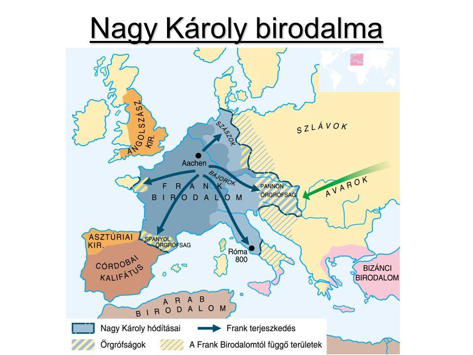 Nagy Károly birodalma