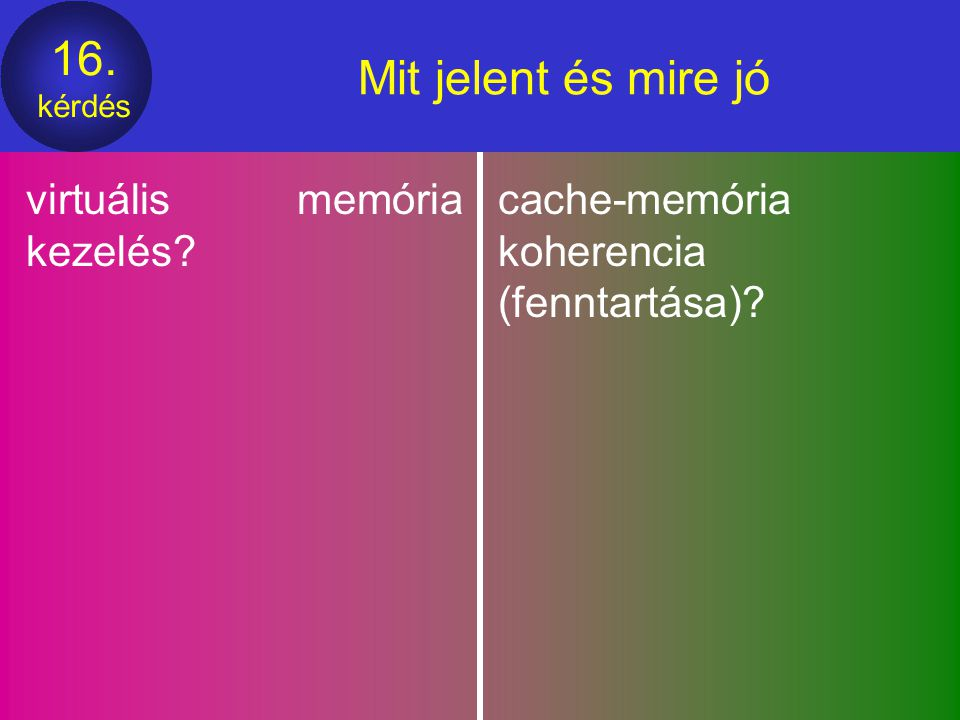 Mit jelent és mire jó virtuális memória kezelés