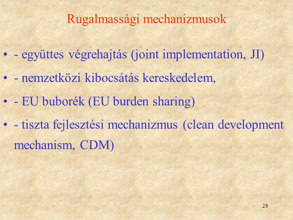 Rugalmassági mechanizmusok