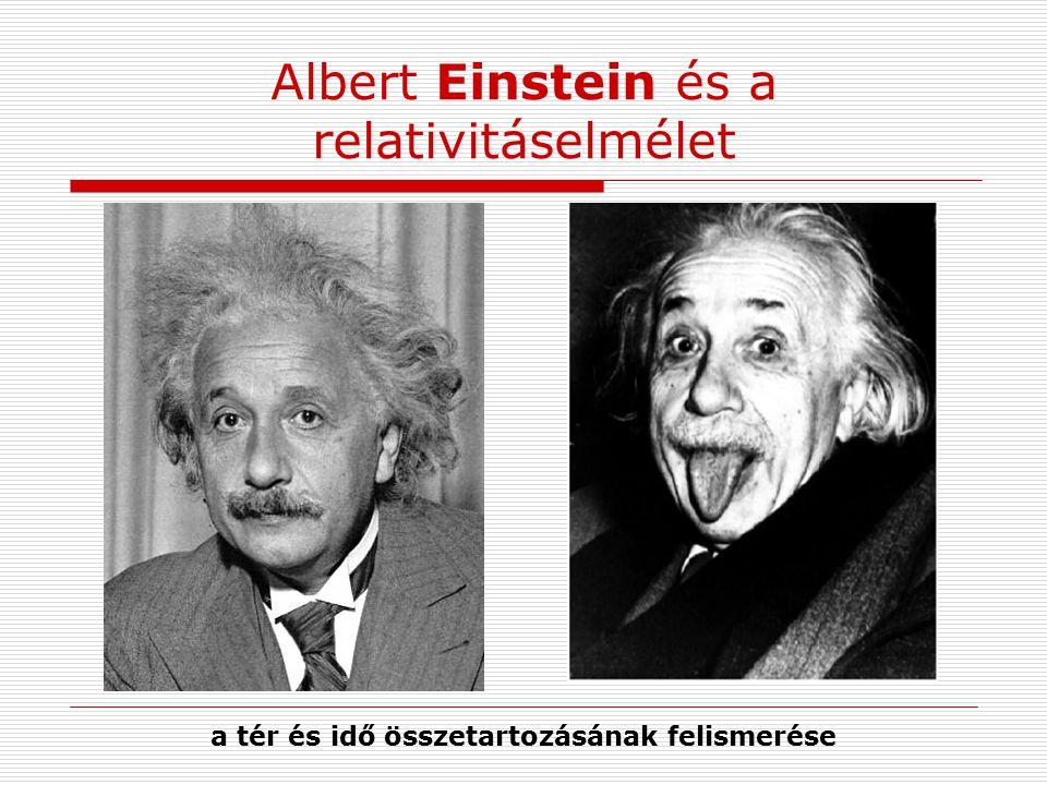 Albert Einstein és a relativitáselmélet