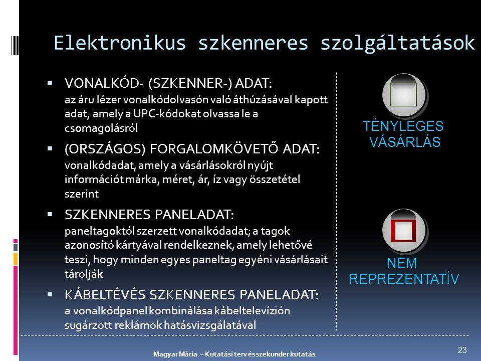 Elektronikus szkenneres szolgáltatások