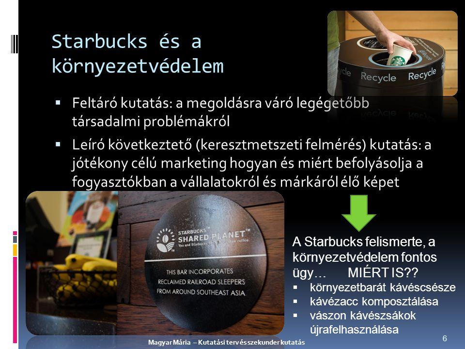 Starbucks és a környezetvédelem