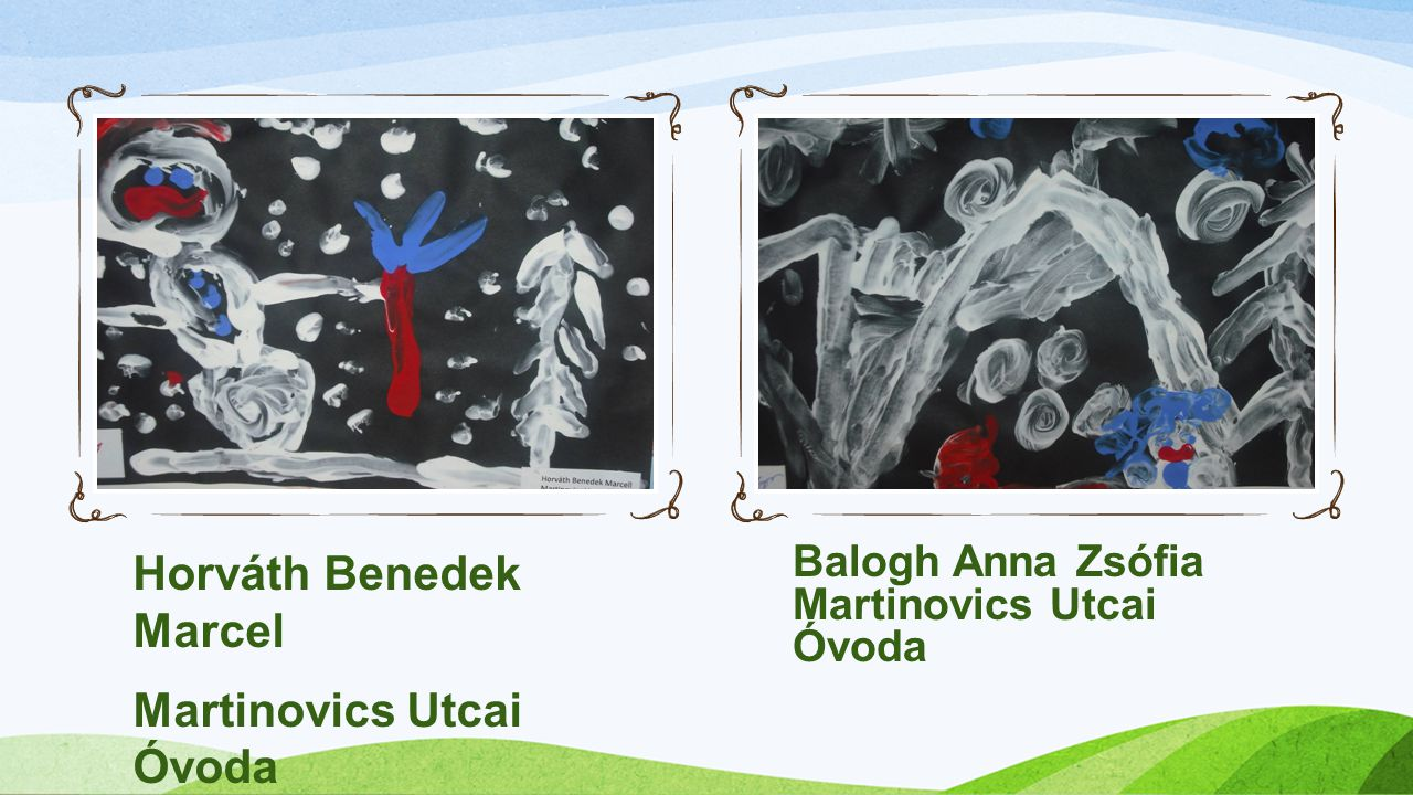 Horváth Benedek Marcel Martinovics Utcai Óvoda