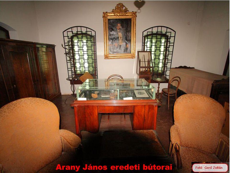 Arany János eredeti bútorai