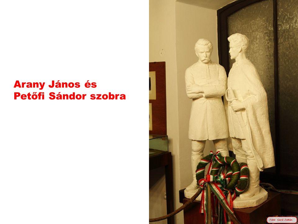 Arany János és Petőfi Sándor szobra