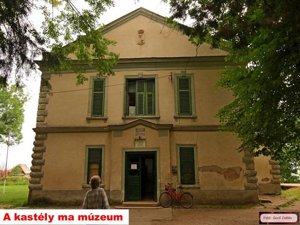 A kastély ma múzeum