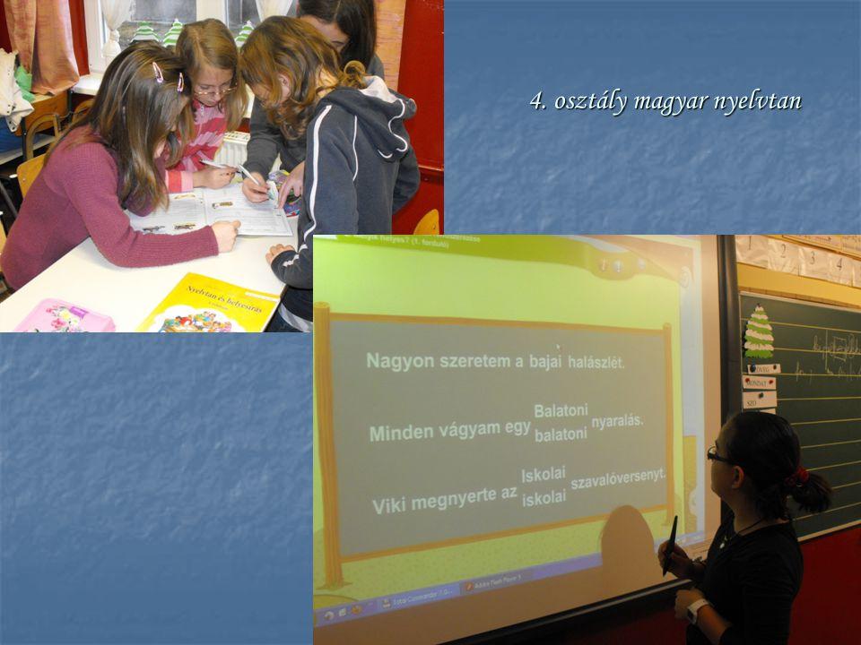 4. osztály magyar nyelvtan