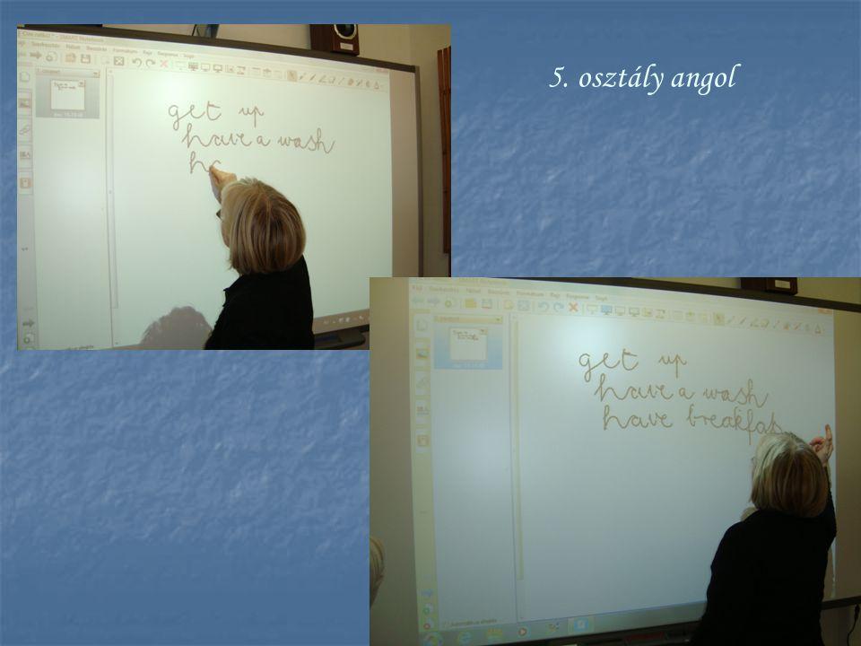 5. osztály angol