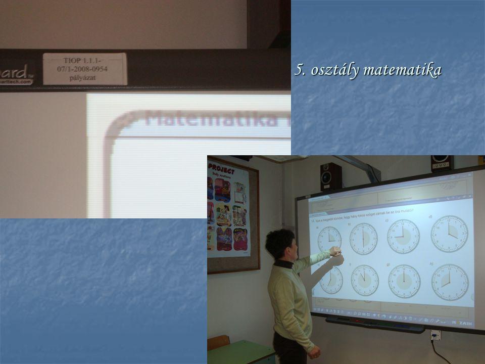 5. osztály matematika