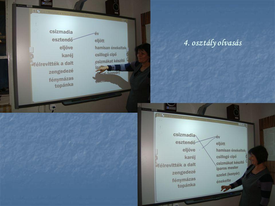 4. osztály olvasás