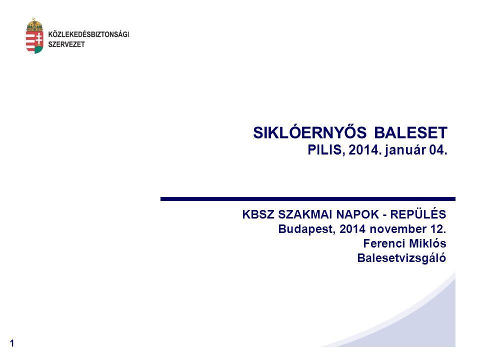 SIKLÓERNYŐS BALESET PILIS, 2014. január 04.