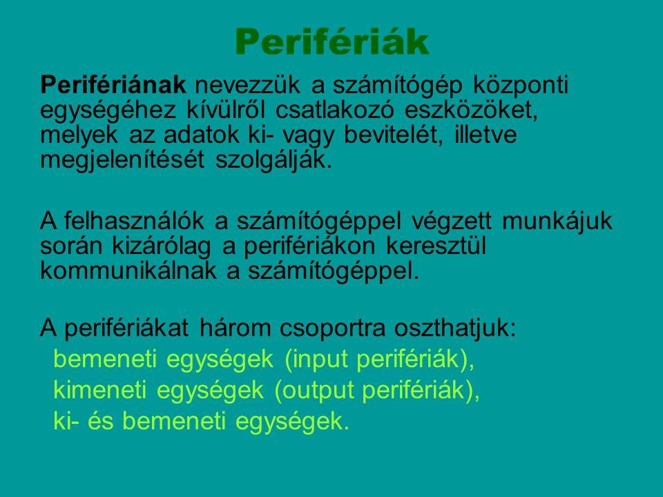 Perifériák