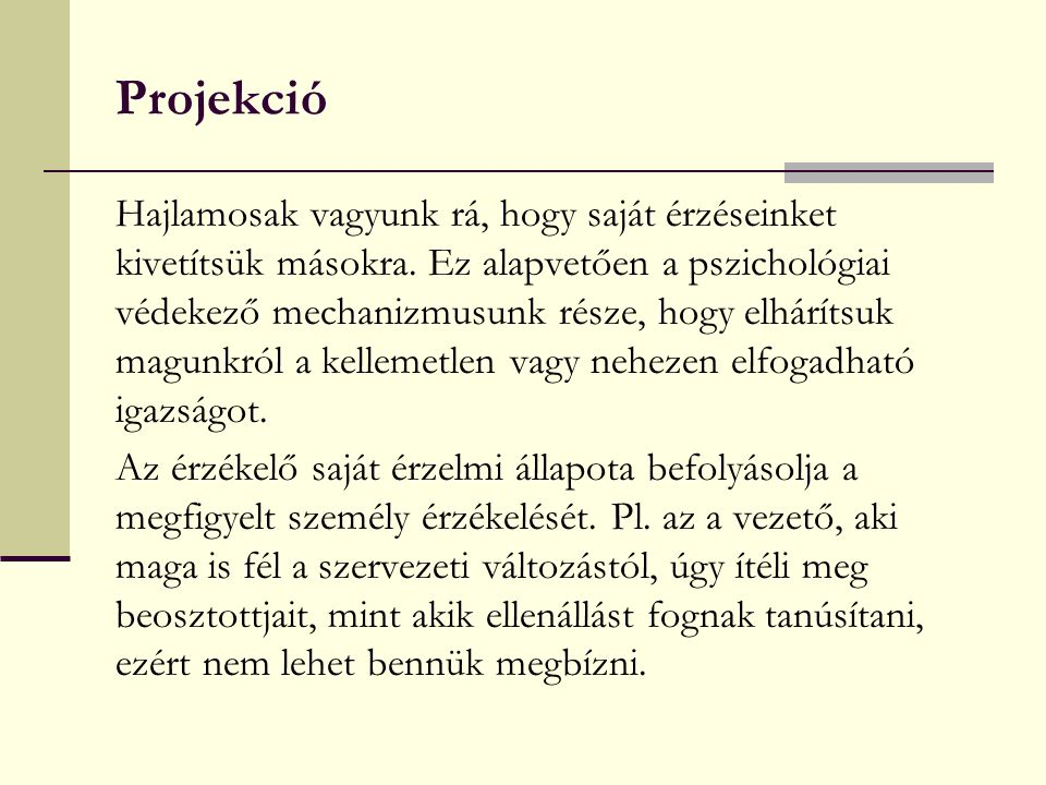 Projekció