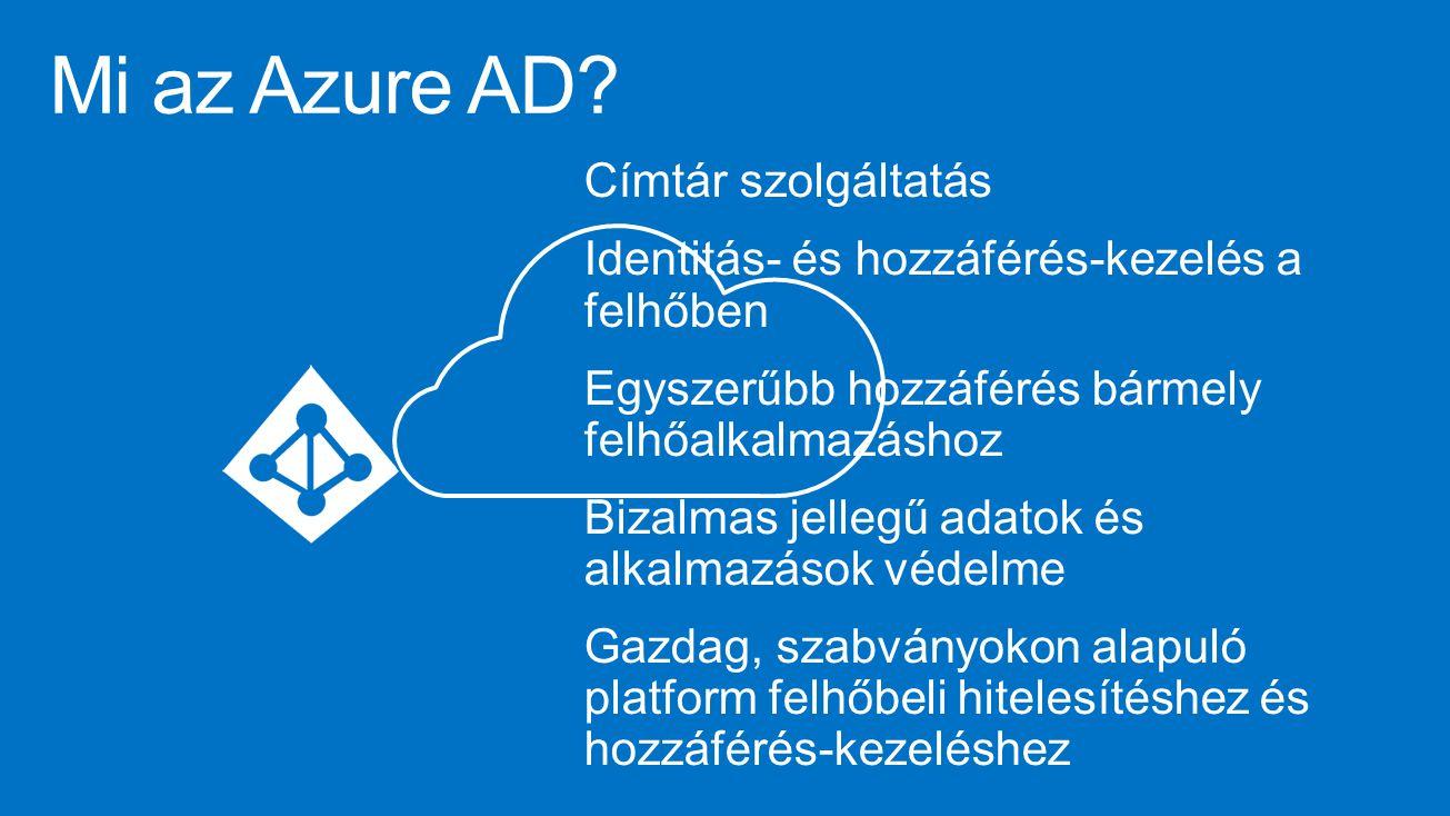 Mi az Azure AD