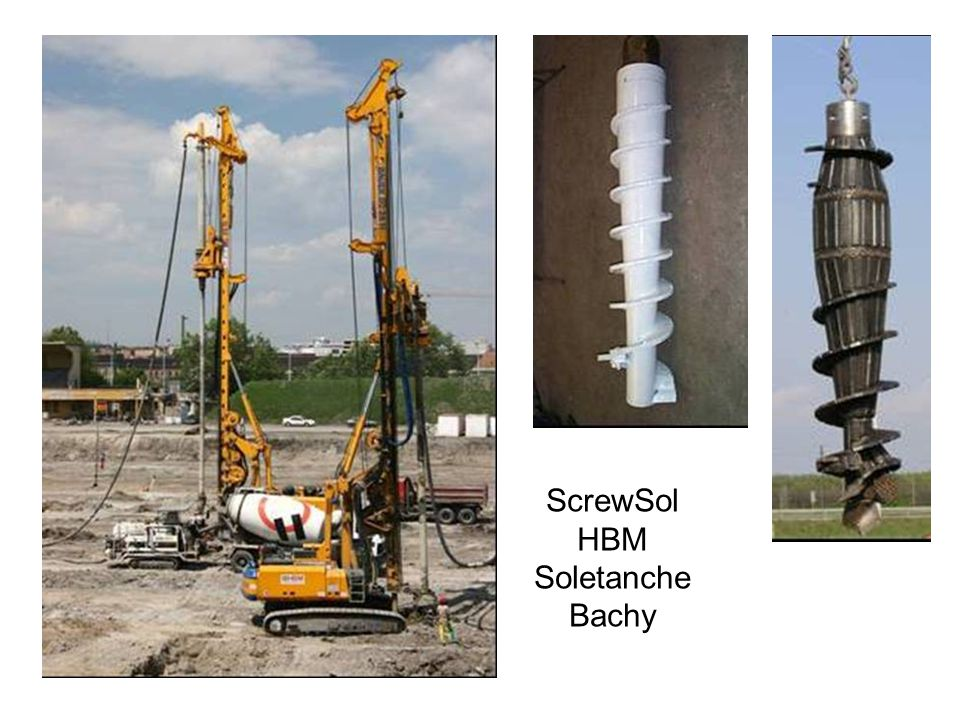 ScrewSol HBM Soletanche Bachy
