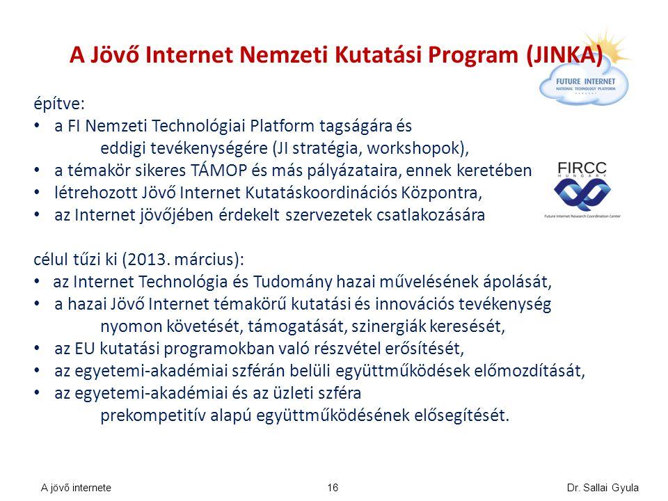 A Jövő Internet Nemzeti Kutatási Program (JINKA)