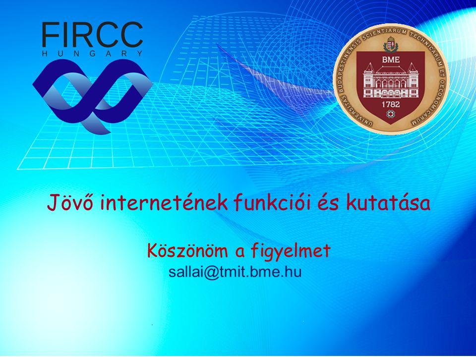 Jövő internetének funkciói és kutatása