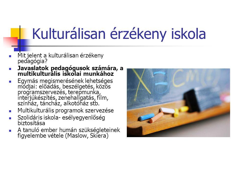 Kulturálisan érzékeny iskola