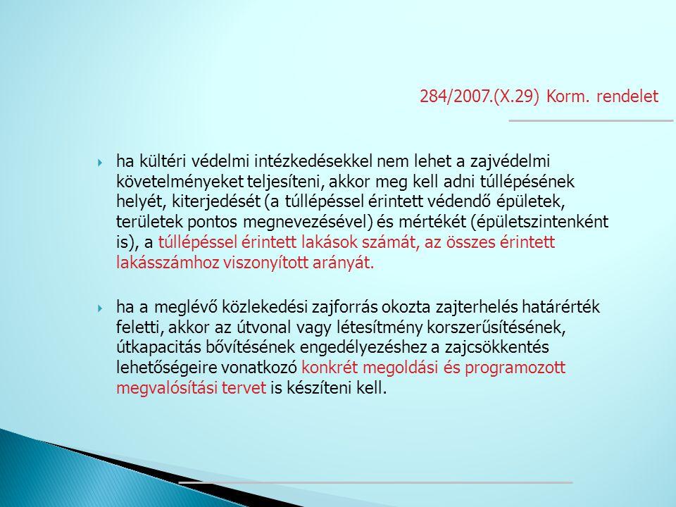 284/2007.(X.29) Korm. rendelet