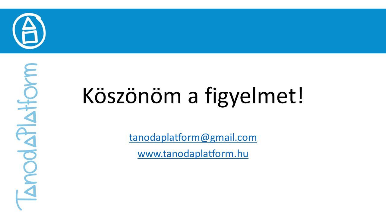 tanodaplatform@gmail.com www.tanodaplatform.hu