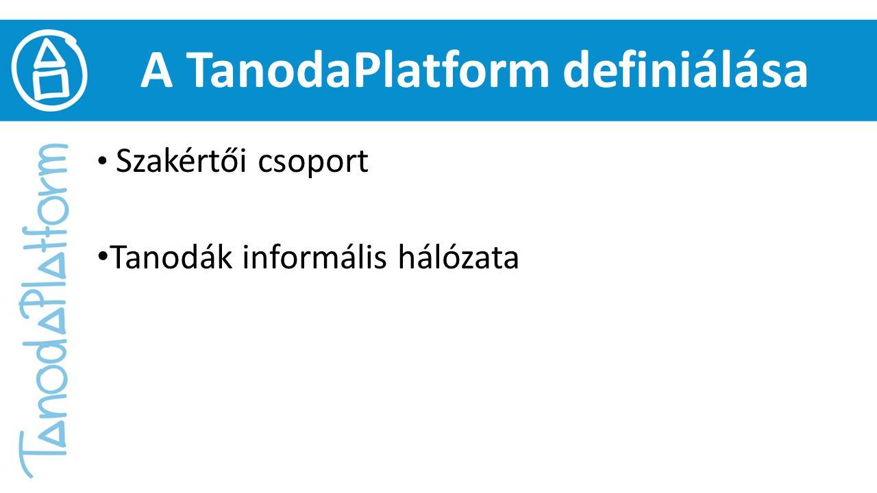 A TanodaPlatform definiálása