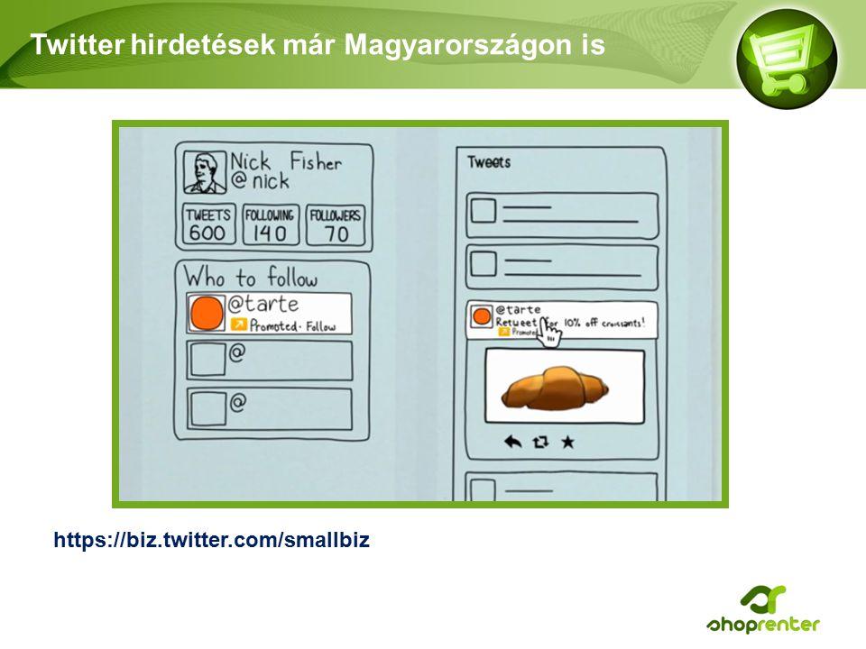 Twitter hirdetések már Magyarországon is