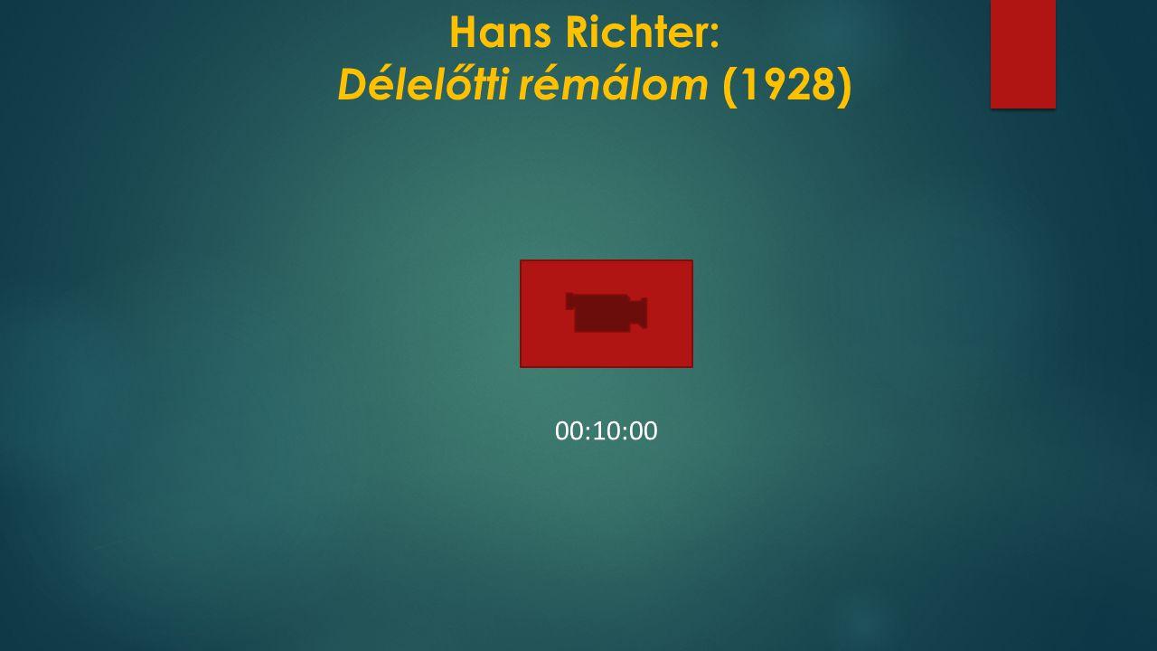 Hans Richter: Délelőtti rémálom (1928)
