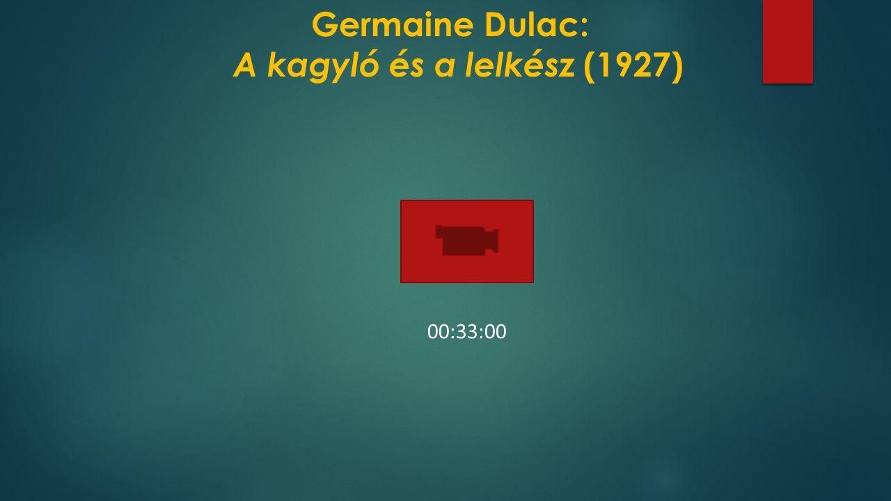 Germaine Dulac: A kagyló és a lelkész (1927)