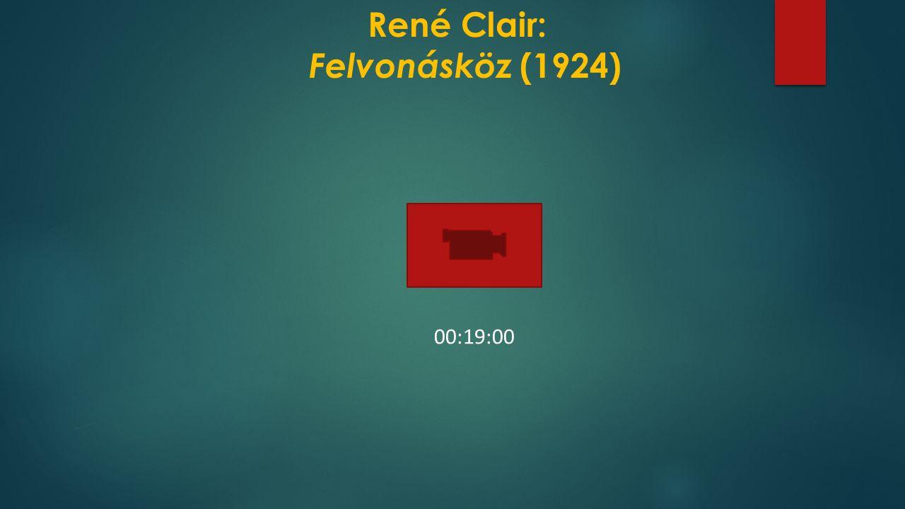 René Clair: Felvonásköz (1924)