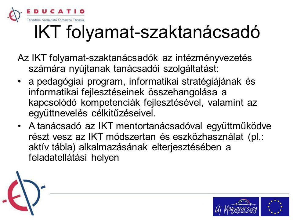IKT folyamat-szaktanácsadó