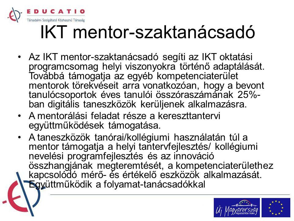 IKT mentor-szaktanácsadó