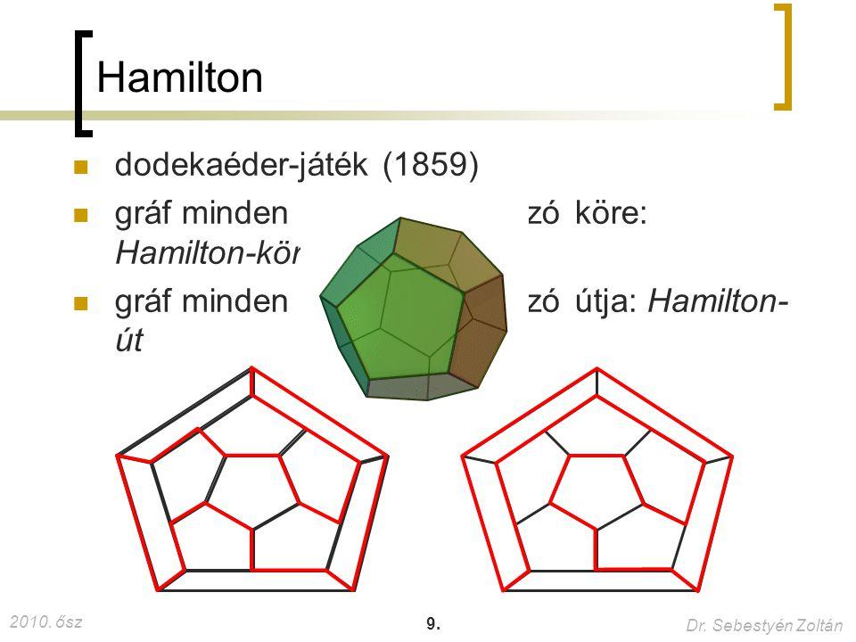 Hamilton dodekaéder-játék (1859)