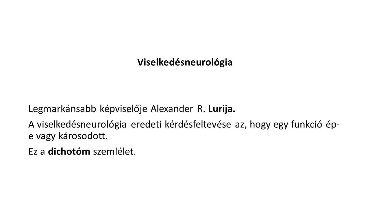 Viselkedésneurológia