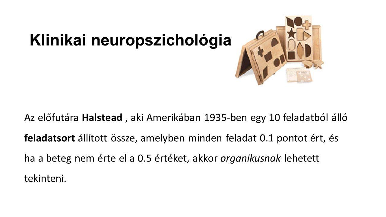 Klinikai neuropszichológia