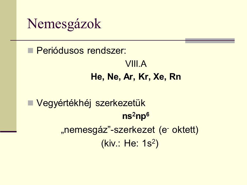 """""""nemesgáz -szerkezet (e- oktett)"""