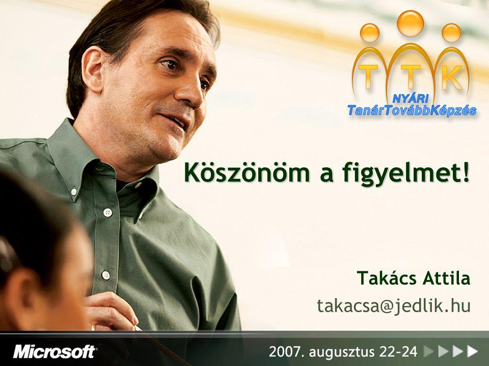 Takács Attila takacsa@jedlik.hu