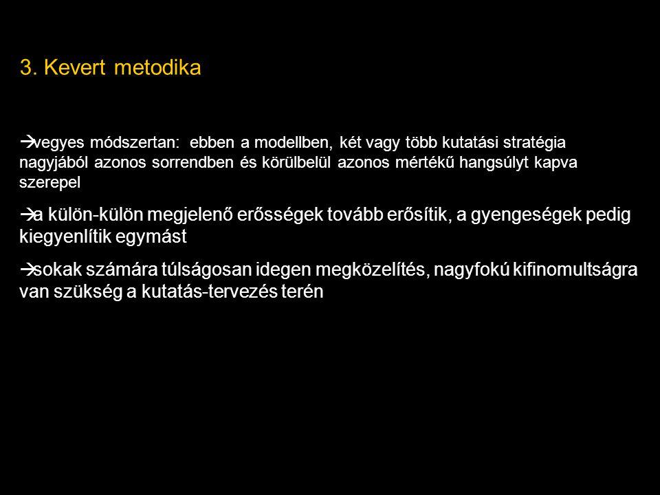 3. Kevert metodika