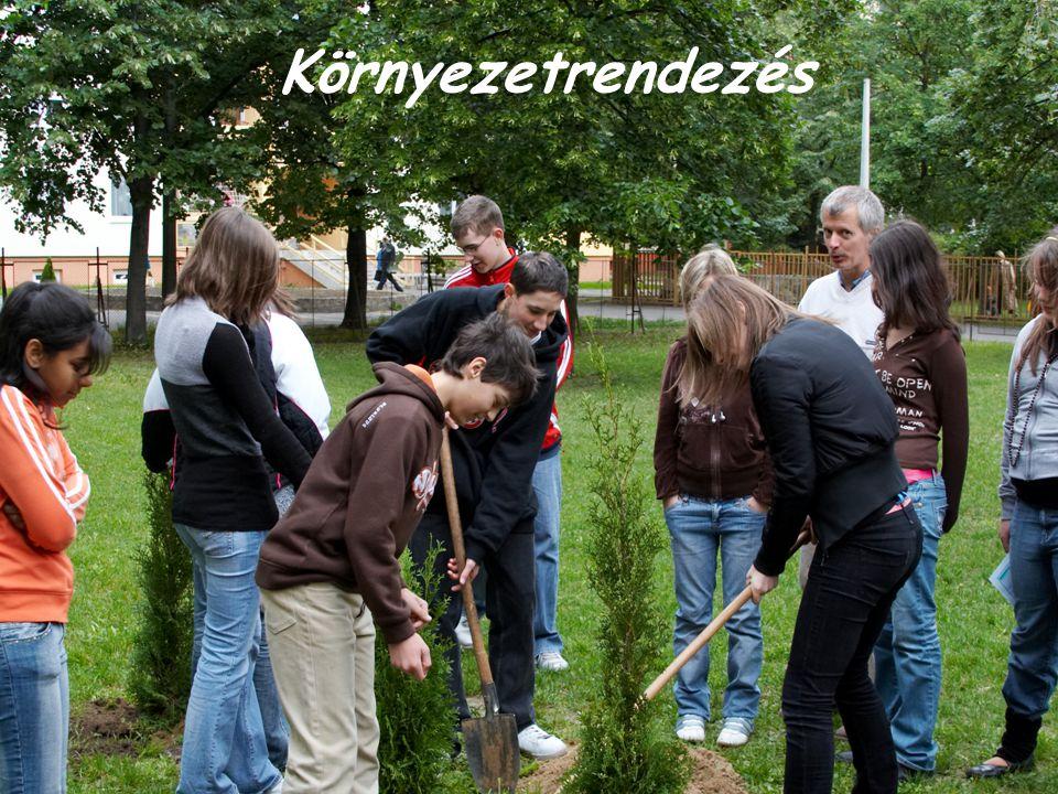 Környezetrendezés Bolyai János Általános Iskola, Óvoda és Alapfokú Művészetoktatási Intézmény, Debrecen.