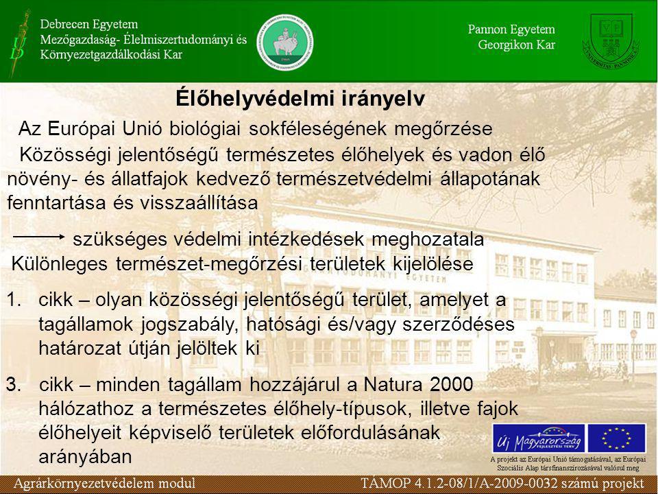 Élőhelyvédelmi irányelv