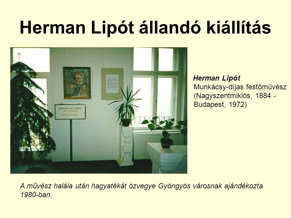 Herman Lipót állandó kiállítás