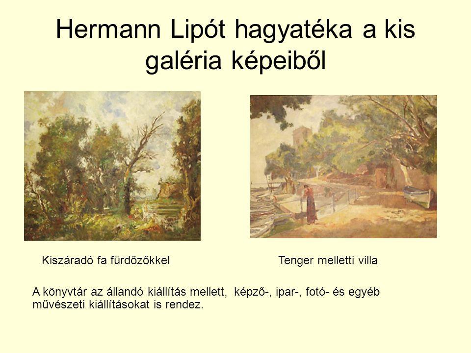 Hermann Lipót hagyatéka a kis galéria képeiből