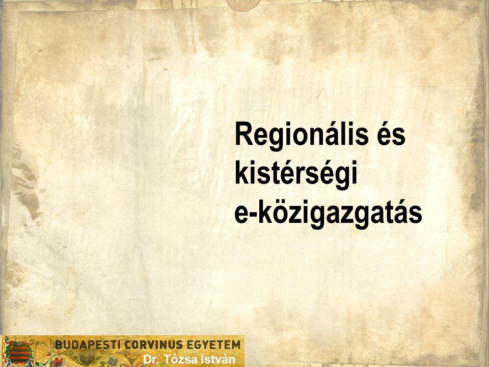 Regionális és kistérségi e-közigazgatás