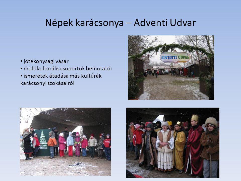 Népek karácsonya – Adventi Udvar