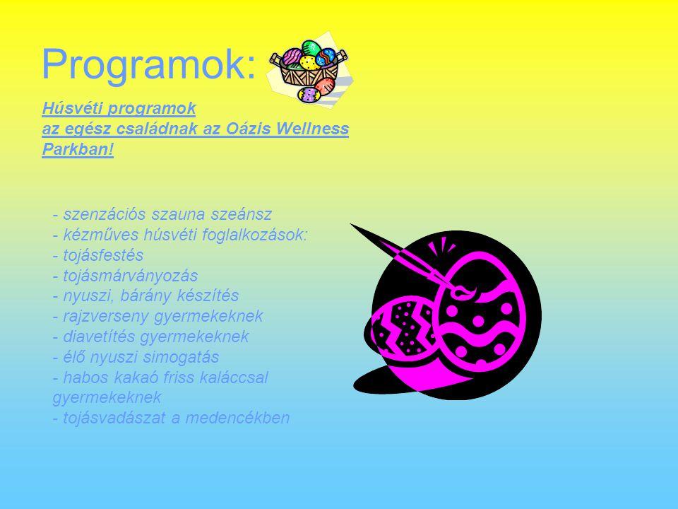 Programok: Húsvéti programok