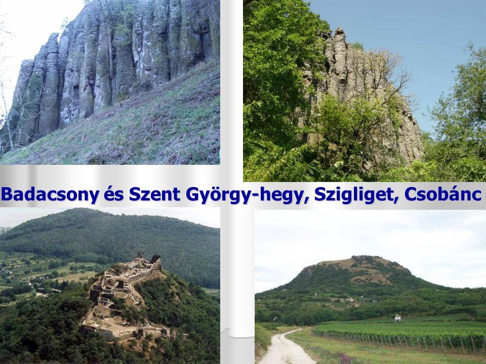 Badacsony és Szent György-hegy, Szigliget, Csobánc