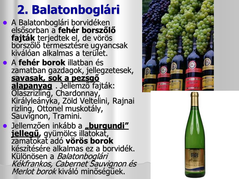 2. Balatonboglári
