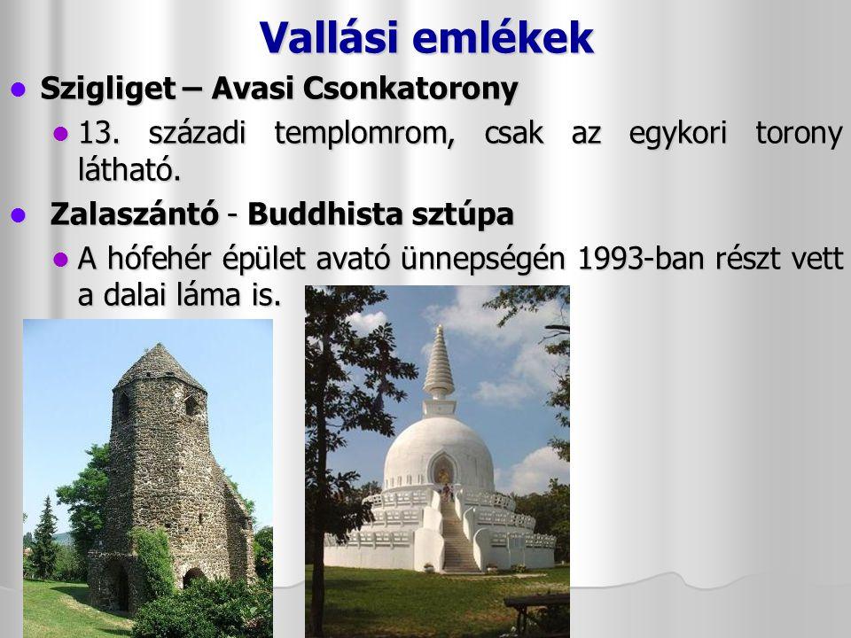 Vallási emlékek Szigliget – Avasi Csonkatorony