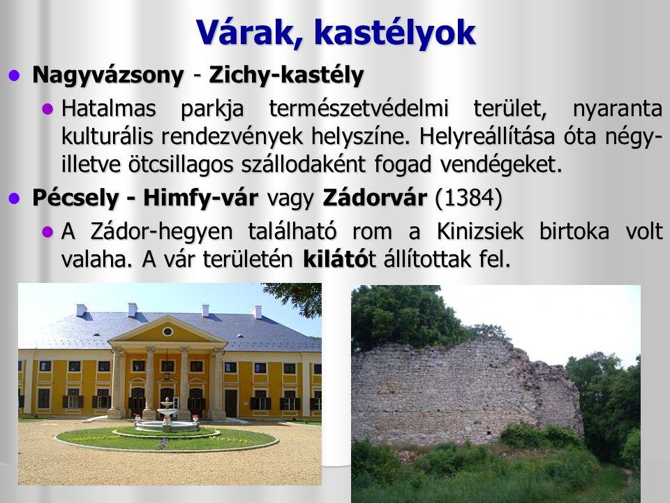 Várak, kastélyok Nagyvázsony - Zichy-kastély