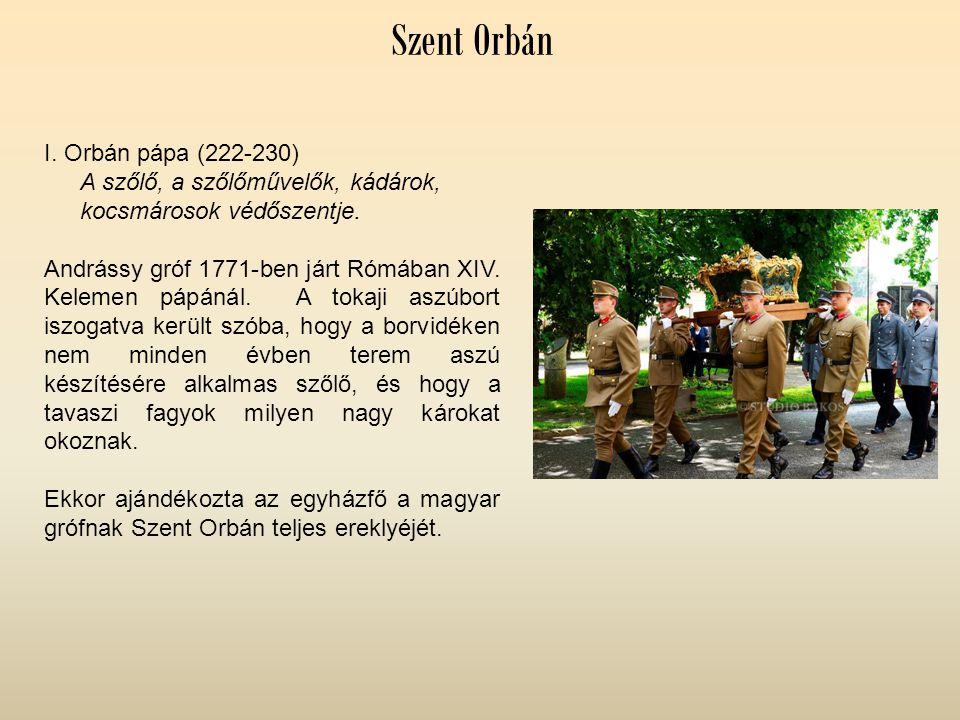 Szent Orbán I. Orbán pápa (222-230)